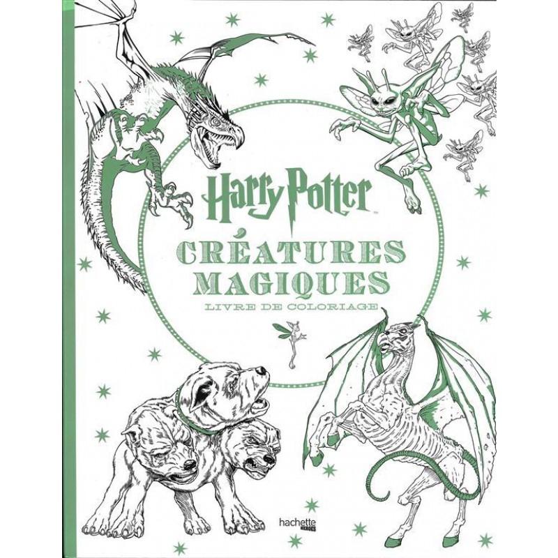 Livre - Harry Potter - Créatures Magiques Coloriage - Divers pour Livre Coloriage Harry Potter