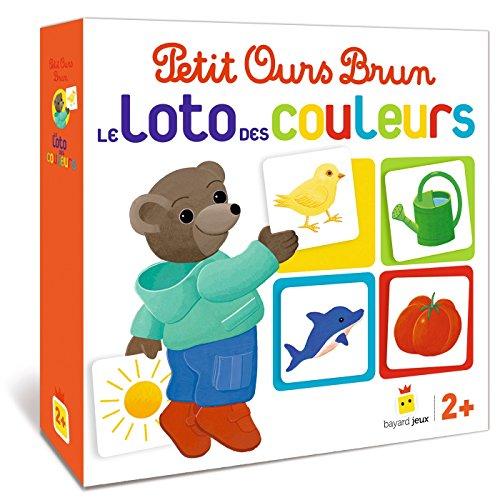 Livre Jeu Petit Ours Brun - Le Loto Des Couleurs - France Jeux dedans Jeux De Petit Ours Brun Gratuit