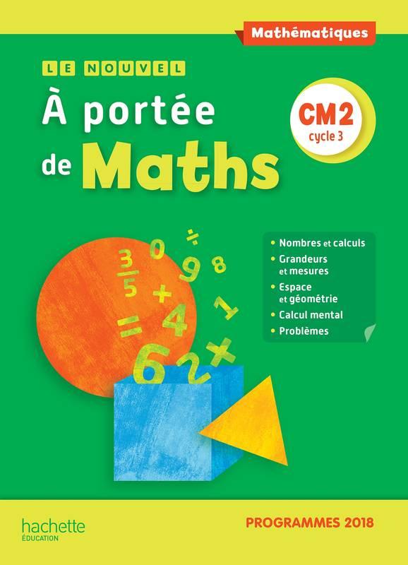 Livre: Le Nouvel A Portée De Maths Cm2 - Manuel Élève dedans Manuel Maths Cm2 Gratuit