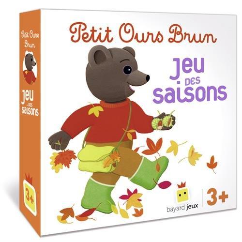 Livre Petit Ours Brun - Le Jeu Des Saisons - France Jeux pour Jeux De Petit Ours Brun Gratuit