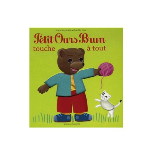 Livre Petit Ours Brun Touche À Tout Pour Enfant De 1 An À serapportantà Jeux De Petit Ours Brun Gratuit