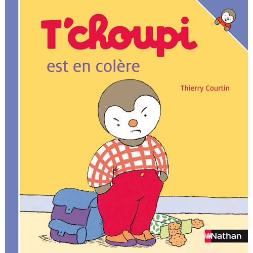 Livre T'Choupi Est En Colère Pour Enfant De 2 Ans À 4 Ans avec T'Choupi ? L'?Cole