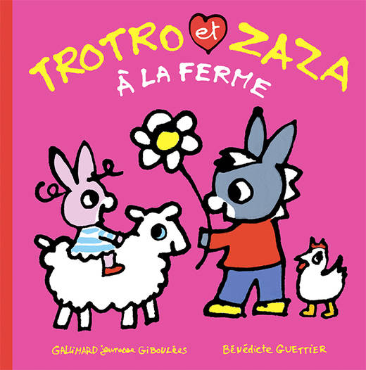 Livre: Trotro Et Zaza À La Ferme, Bénédicte Guettier pour Trotro Et Zaza