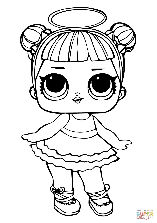 Lol Doll Sugar Coloring Page | Free Printable Coloring Pages avec Coloriage Poup?E Lol