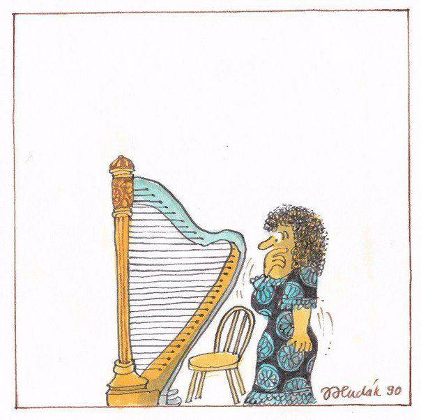 Lovarpe Sandrine Pourailly: Harpe Et Humour encequiconcerne Dessin Harpe