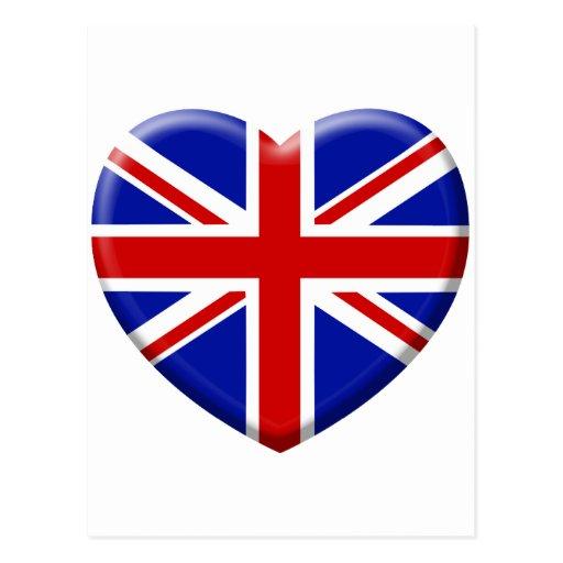 Love Drapeau Angleterre Cartes Postales | Zazzle à Drapeau De L Angleterre À Colorier