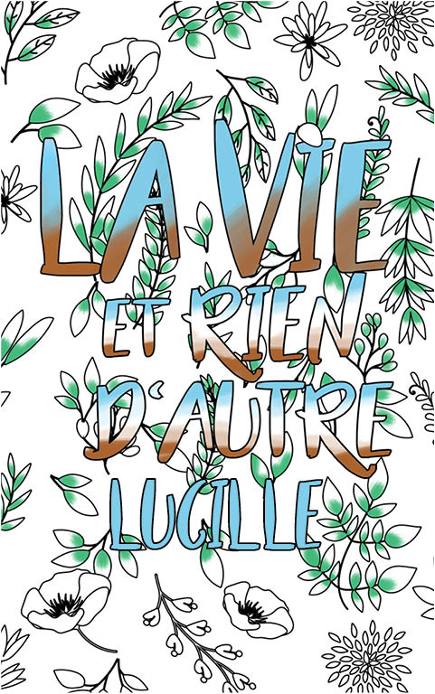 Lucille Est Formidable. Le Livre Personnalisé De Coloriage serapportantà Livre Coloriage Personnalisé