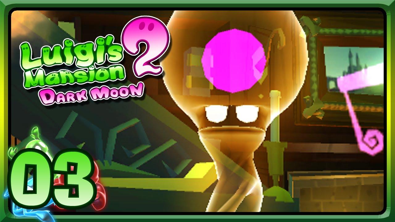 Luigi'S Mansion 2 [#3] - Le Fantôme Du Piano - intérieur Coloriage Luigi Mansion 3 Fantome