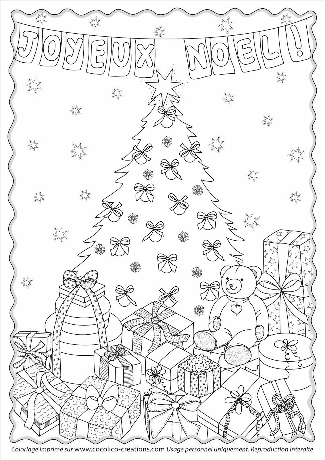 Luxe Coloriage Paysage De Noel A Imprimer | Meilleur dedans Dessin Cadeau De Noel