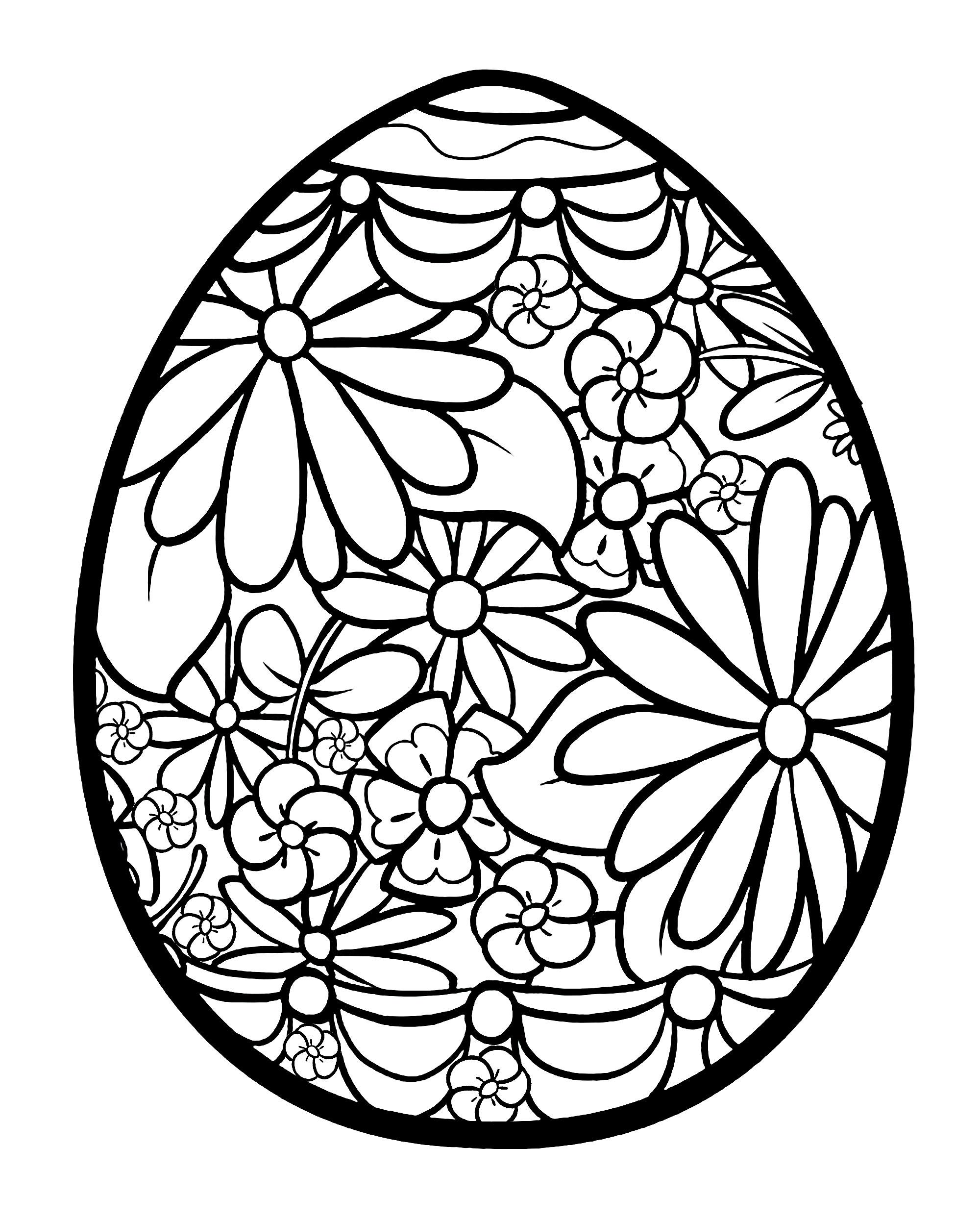 Luxe Dessin Coloriage Oeuf De Paques – Mademoiselleosaki avec Coloriage De Paques A Imprimer