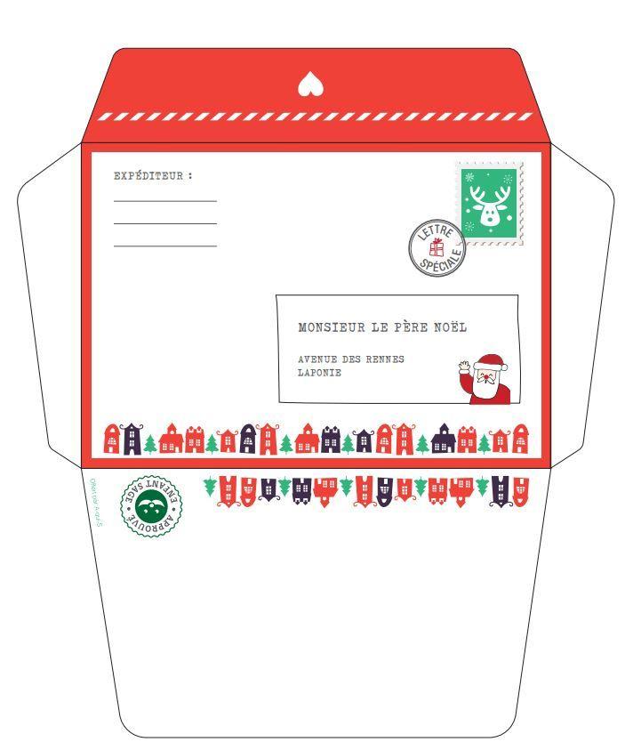 Ma Lettre Au Père Noël : Modèles À Imprimer - En 2020 dedans Lettre Au Pere Noel 2020