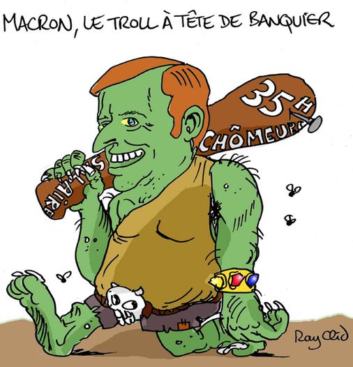 Macron Qui Veut Se Faire Aussi Gros Que Le Boeuf - Riposte tout Question Sur La Grenouille Qui Veut Se Faire Aussi Grosse Que Le Boeuf