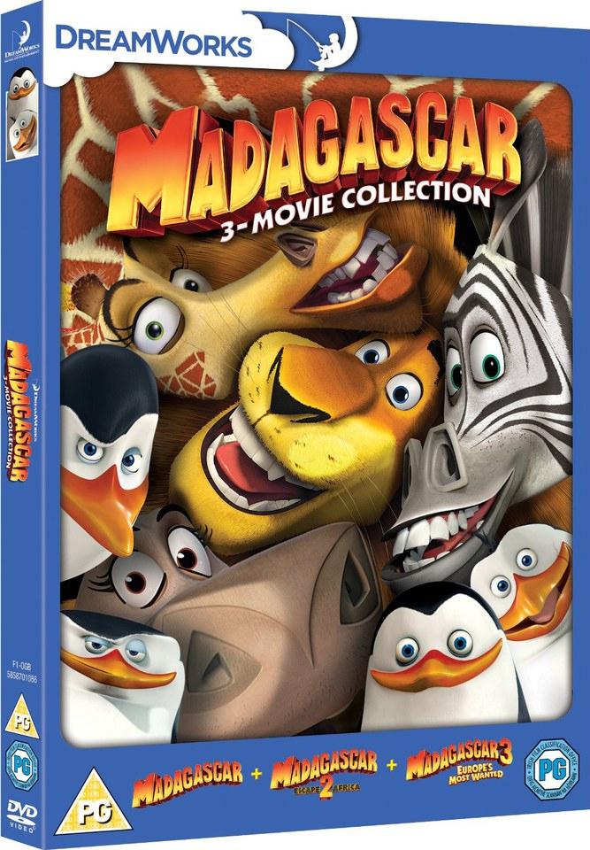 Madagascar 1-3 Dvd | Zavvi pour Madagascar 2 Argue 1/2