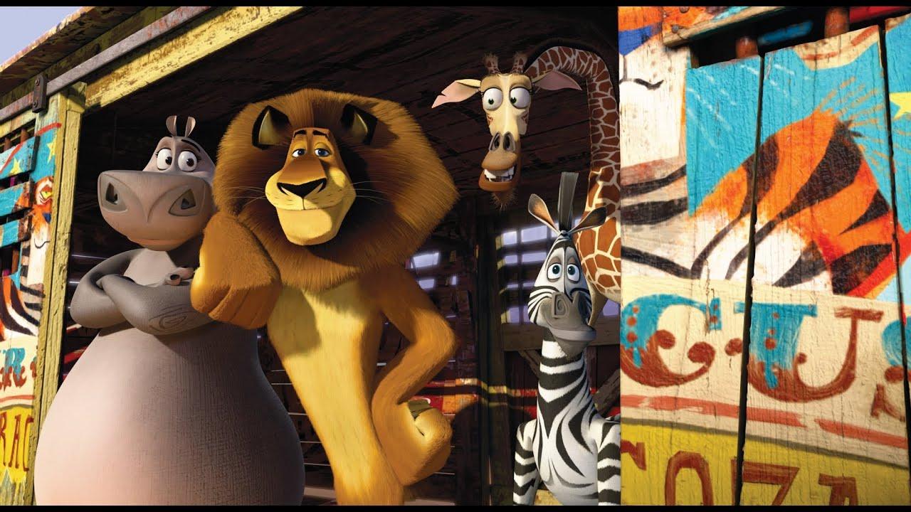 Madagascar 3 - Nouvelle Bande-Annonce Vf - intérieur Madagascar 3 Alex