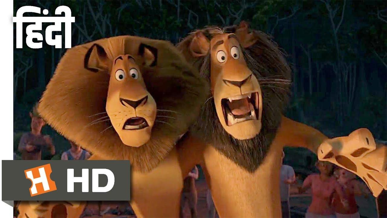 Madagascar: Escape 2 Africa (2008) - The Lion Dance Hindi serapportantà Madagascar Escape 2 Africa Argue Scene