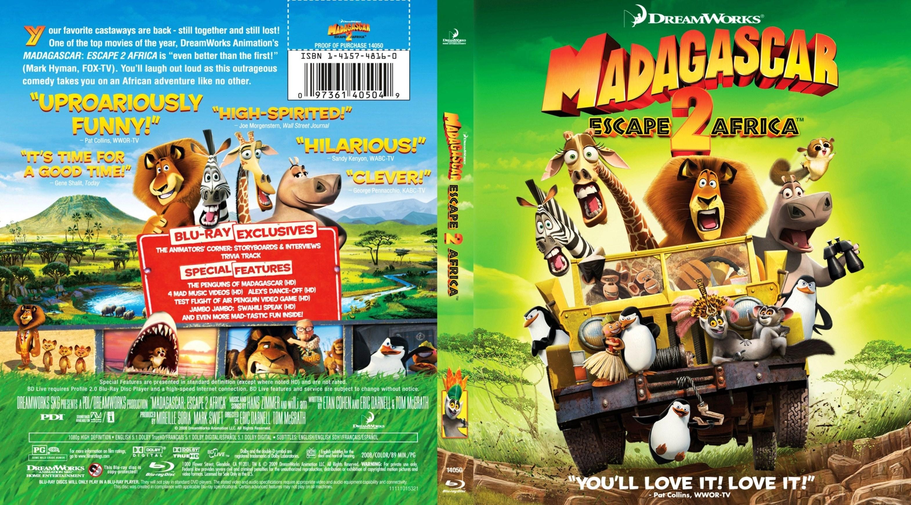 Madagascar: Escape 2 Africa/Photos - Madagascar Wiki destiné Madagascar 2 Argue 1/2