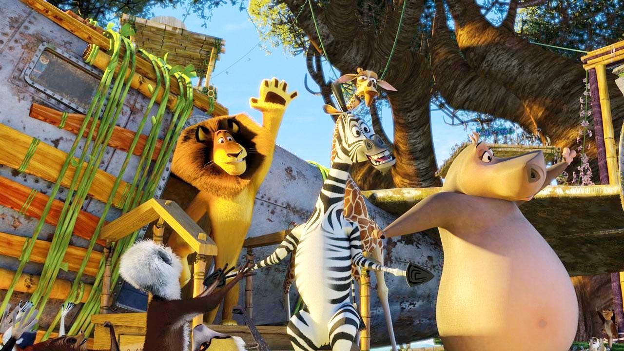 Madagascar: Escape 2 Africa Picture 3 dedans Madagascar Escape 2 Africa Argue Scene