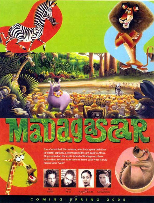 Madagascar The Movie - Masombahiny dedans Dreamworks Madagascar Movie