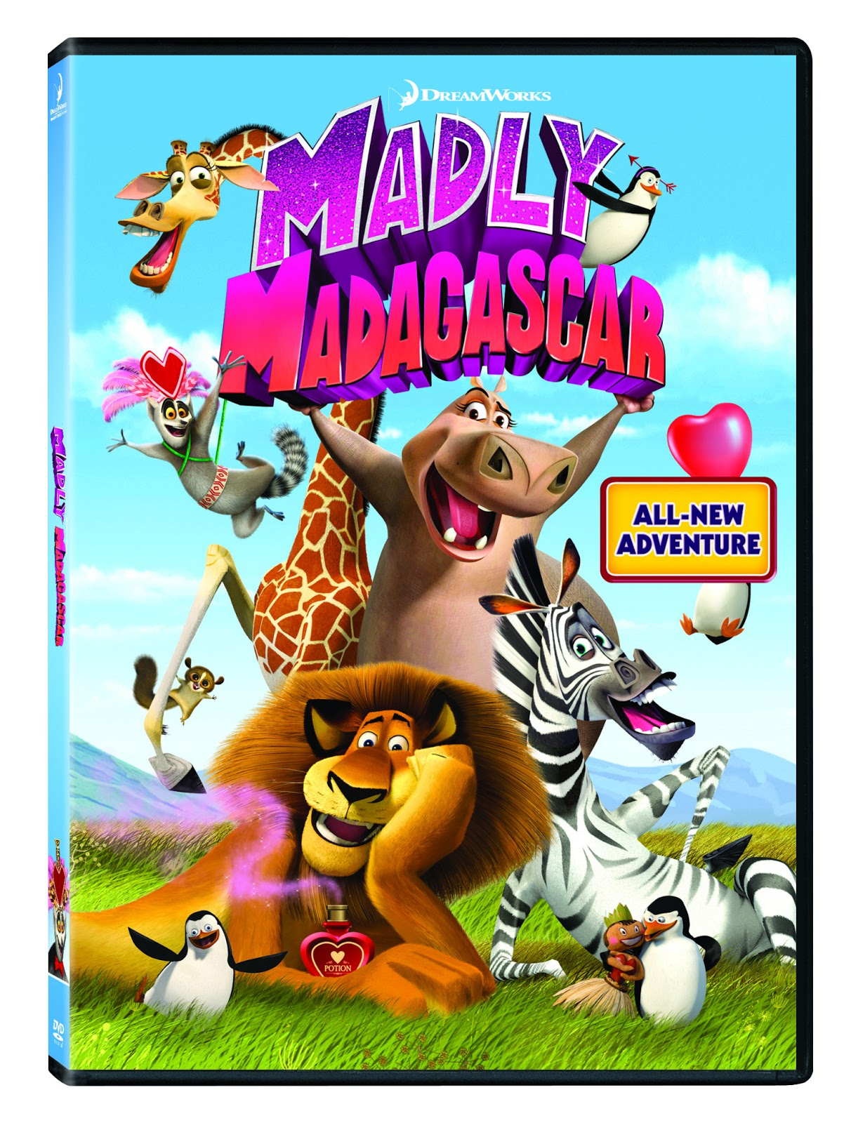 Madly Madagascar Valentine'S Cards And Craft Ideas | The serapportantà Dreamworks Madagascar Movie