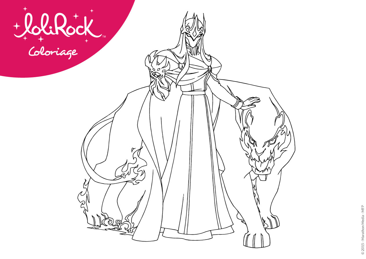 Magic Lolirock: Activities tout Coloriage A Imprimer Gratuit