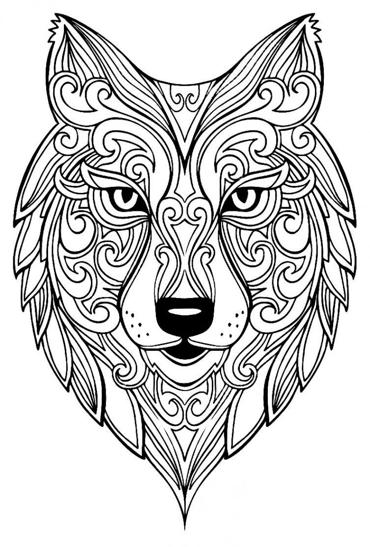 Mandala À Colorier Animaux | Coloriage Zen Animaux encequiconcerne Mandala Animaux À Imprimer Gratuit