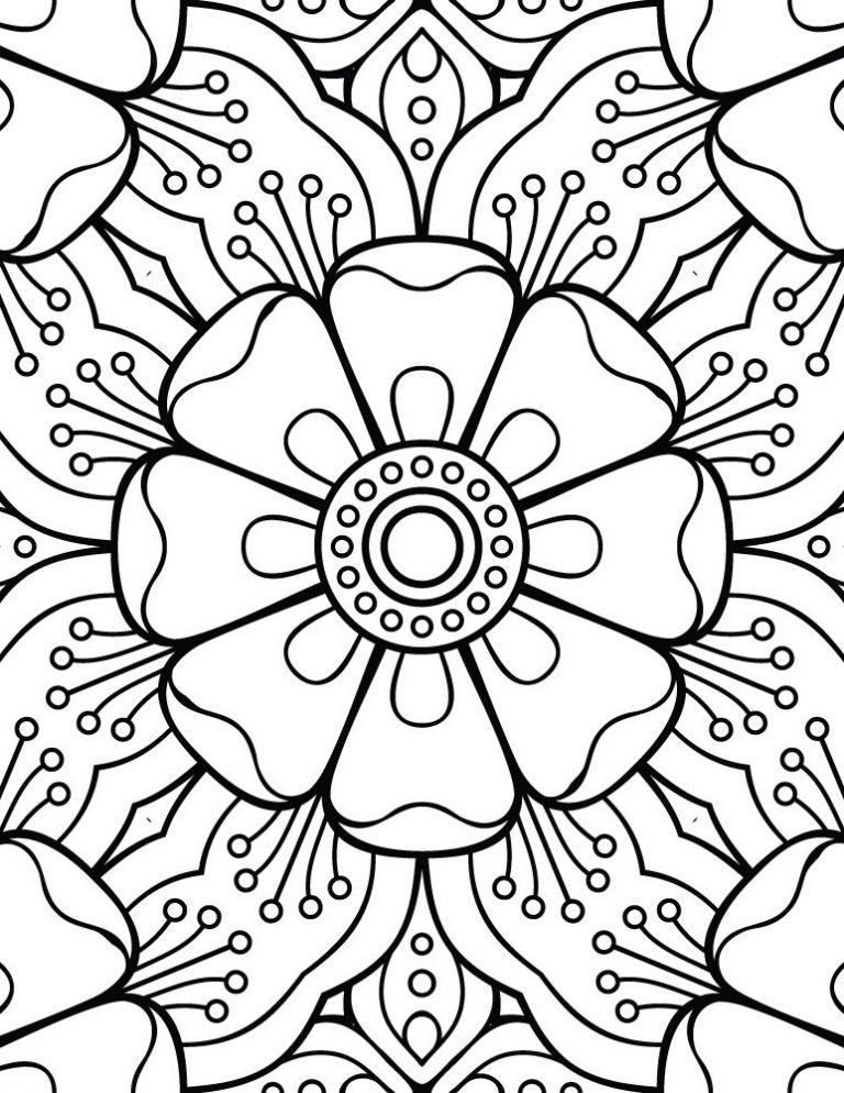 Mandala A Dessiner Cool Collection Mandala Facile Dessin A intérieur Mandala A Dessiner