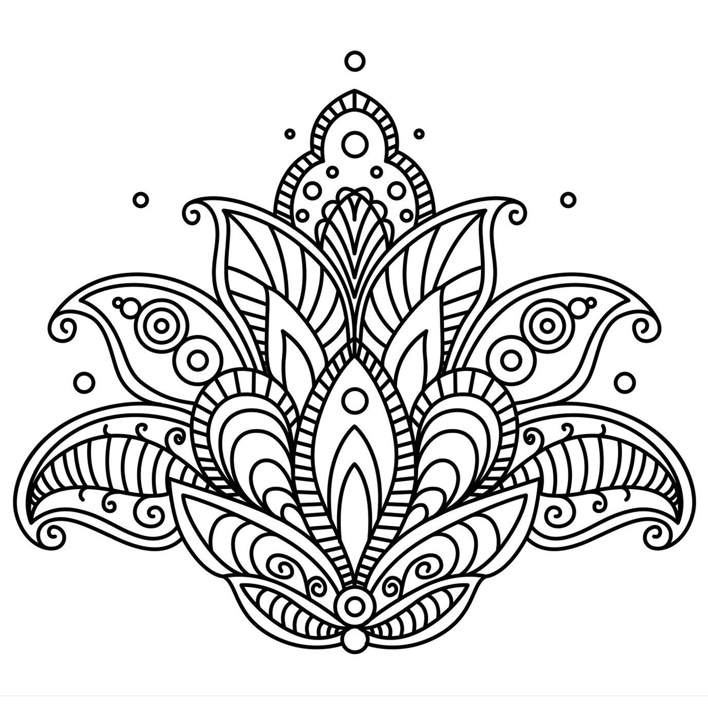 Mandala - Buscar Con Google | Coloriage Mandala, Coloriage à Coloriage