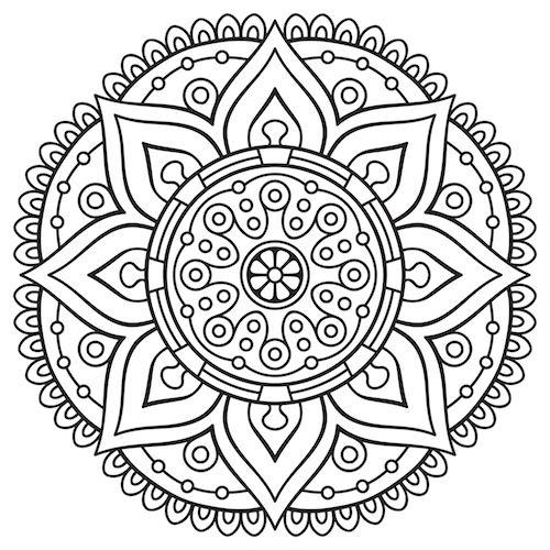 Mandala Coloring Pages   Mandala Coloring Pages, Mandala destiné 100 Greatest Mandala Coloring Book: