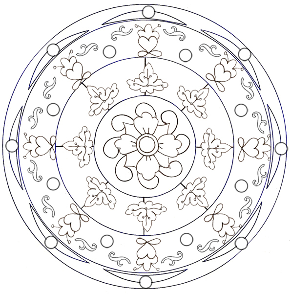 Mandalas Cm2 encequiconcerne Mandala Cm2