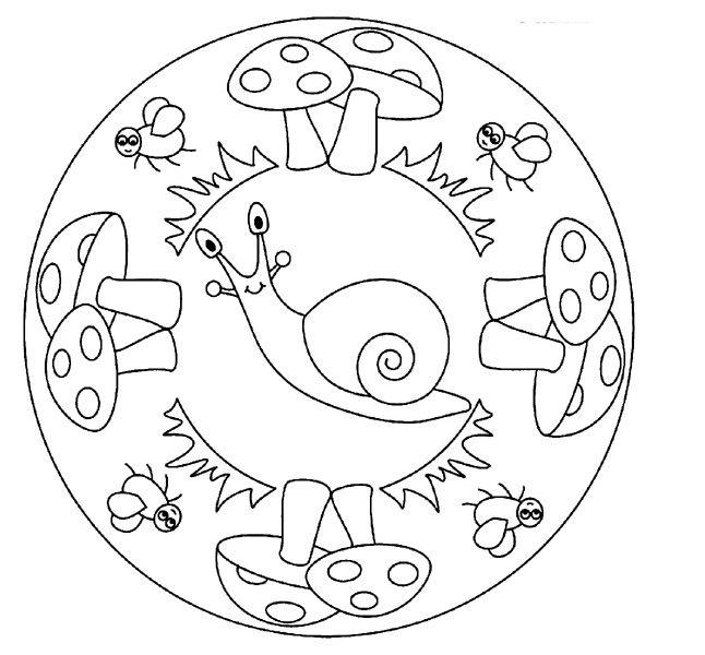 Mandales P3 - Cerca Amb Google | Mandala À Colorier dedans Mandala Pour Petit