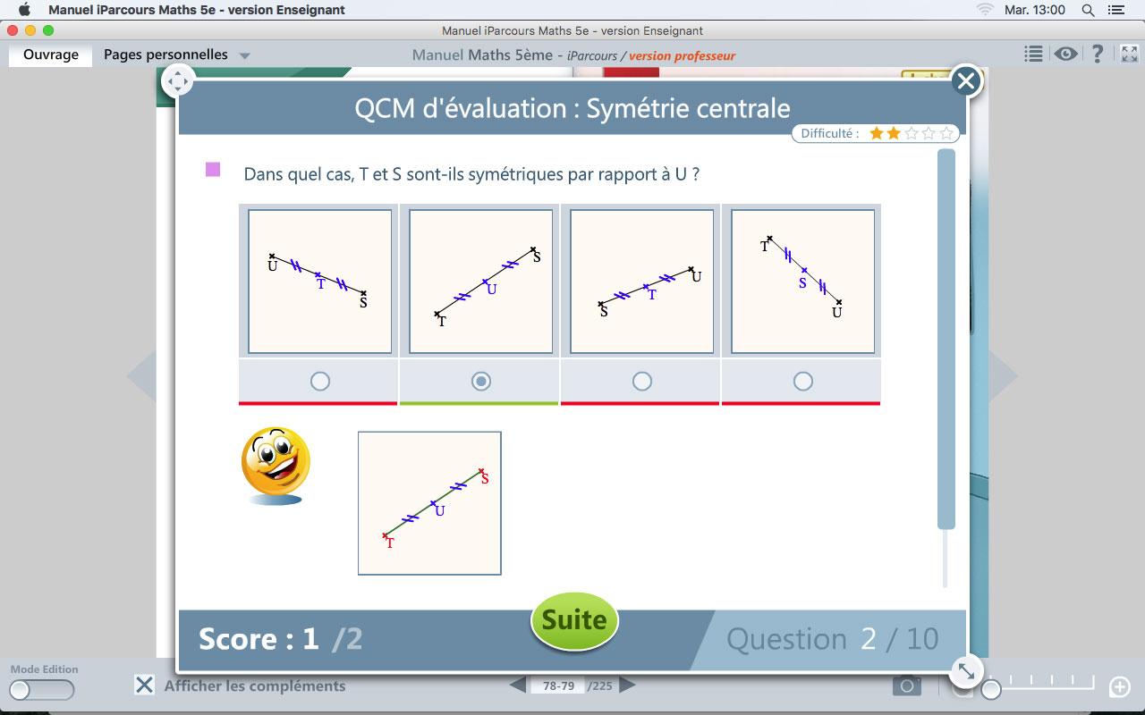 Manuel Iparcours Maths 5E intérieur Manuel Exercices Iparcours Pdf