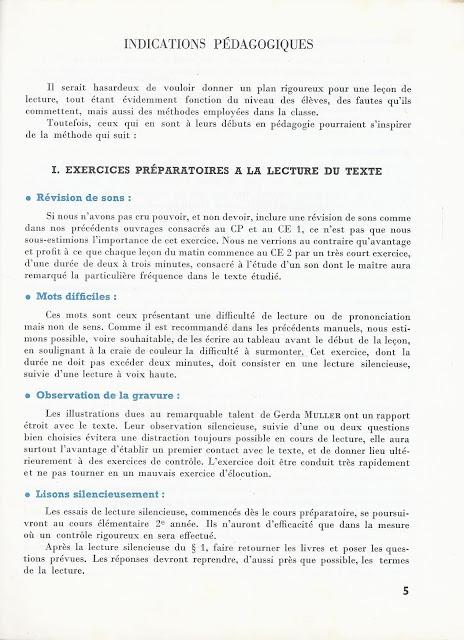 Manuels Anciens: Millot, L'Enfant Et La Lecture Ce2 (1965) concernant La Grenouille Qui Veut Se Faire Aussi Grosse Que La Vache Pdf