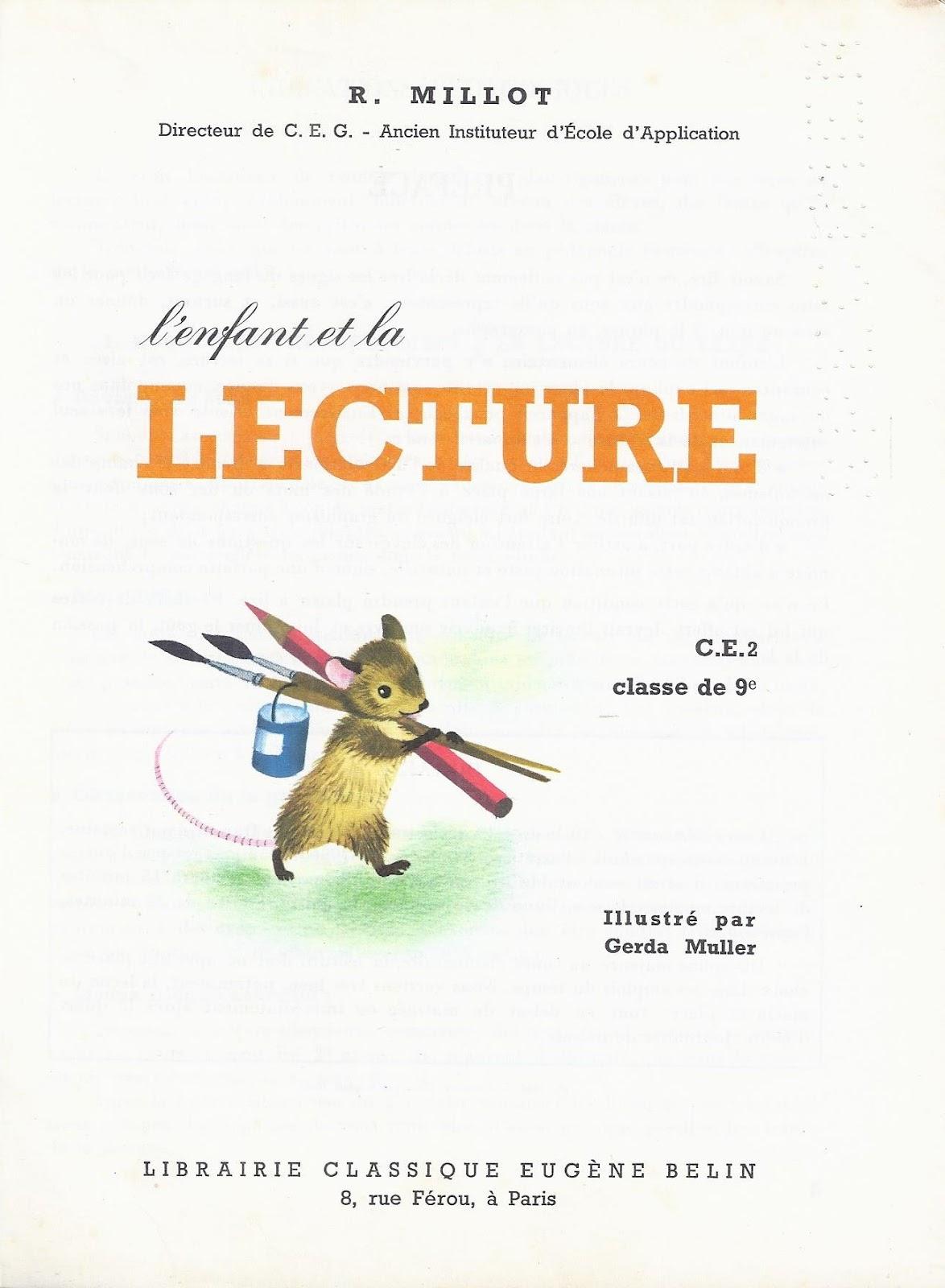 Manuels Anciens: Millot, L'Enfant Et La Lecture Ce2 (1965) dedans La Grenouille Qui Veut Se Faire Aussi Grosse Que La Vache Pdf