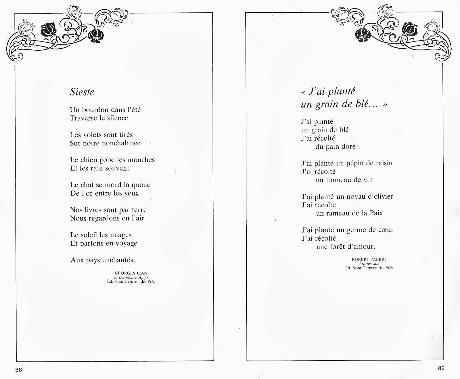Manuels Anciens: Renault, Laurent, 100 Poèmes Pour Les intérieur Vive Les Vacances Poeme Pour Enfant
