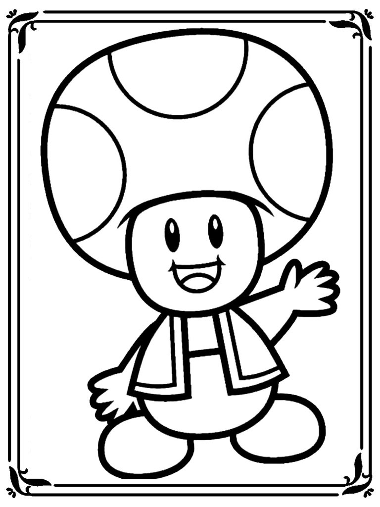 Mario Kart 8 Coloring Pages | Free Download On Clipartmag tout Coloriage Mario Kart
