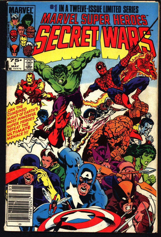 Marvel Super-Heroes Secret Wars #1 Mike Zeck Beyonder à Super Héros Fille Marvel