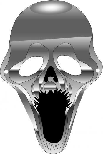 Masque D'Halloween : La Tête De Mort Vivant - Trucs Et Deco destiné Fabrication Masque Halloween