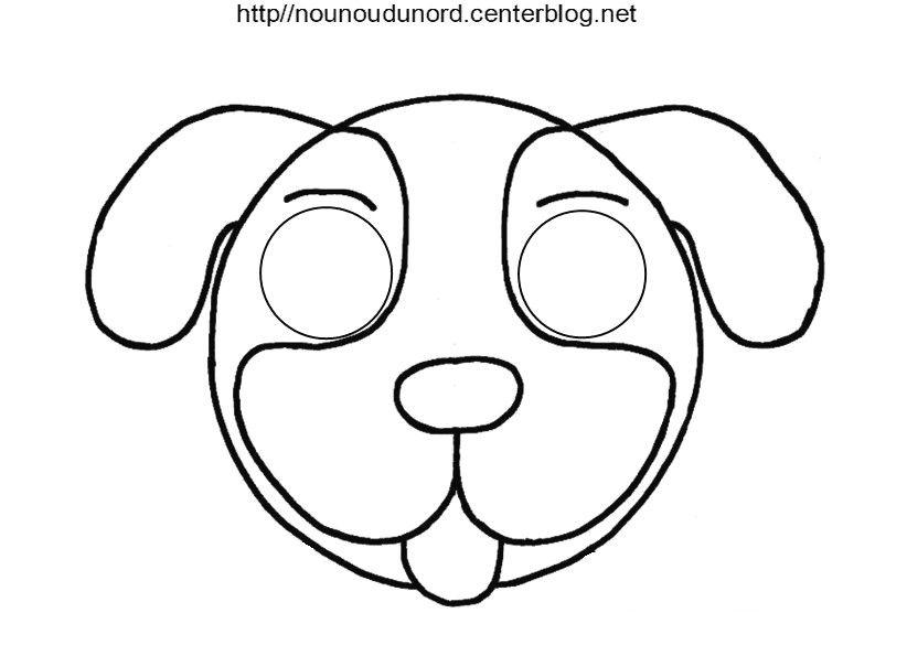 Masques À Imprimer Classés Par Ordre Alphabétique | Masque dedans Masque D Animaux À Colorier