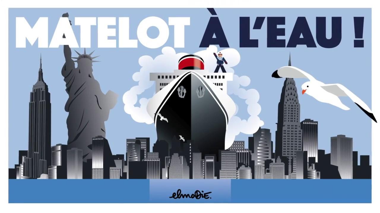 Matelot A L'Eau - Elmodie / Pop-Up Book - avec Matelot Navigue Sur Les Flots
