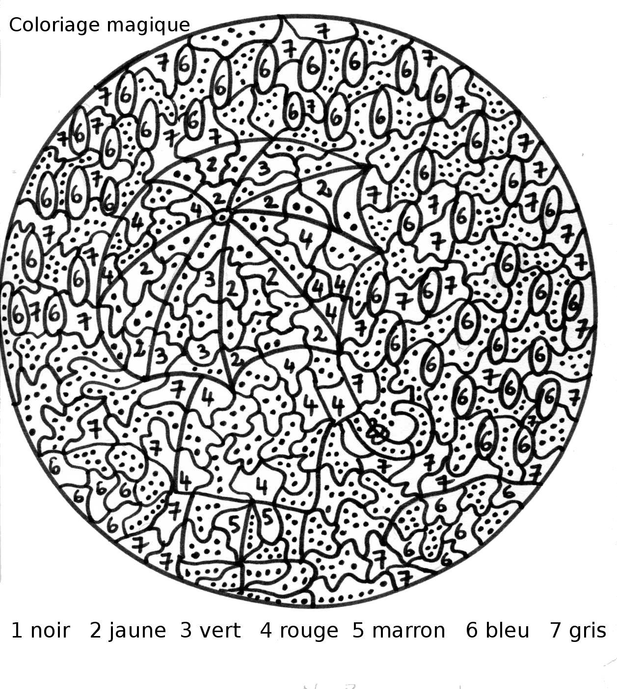 Maternelle: Coloriage Magique, Sous La Pluie encequiconcerne Coloriage Magique Cp À Imprimer