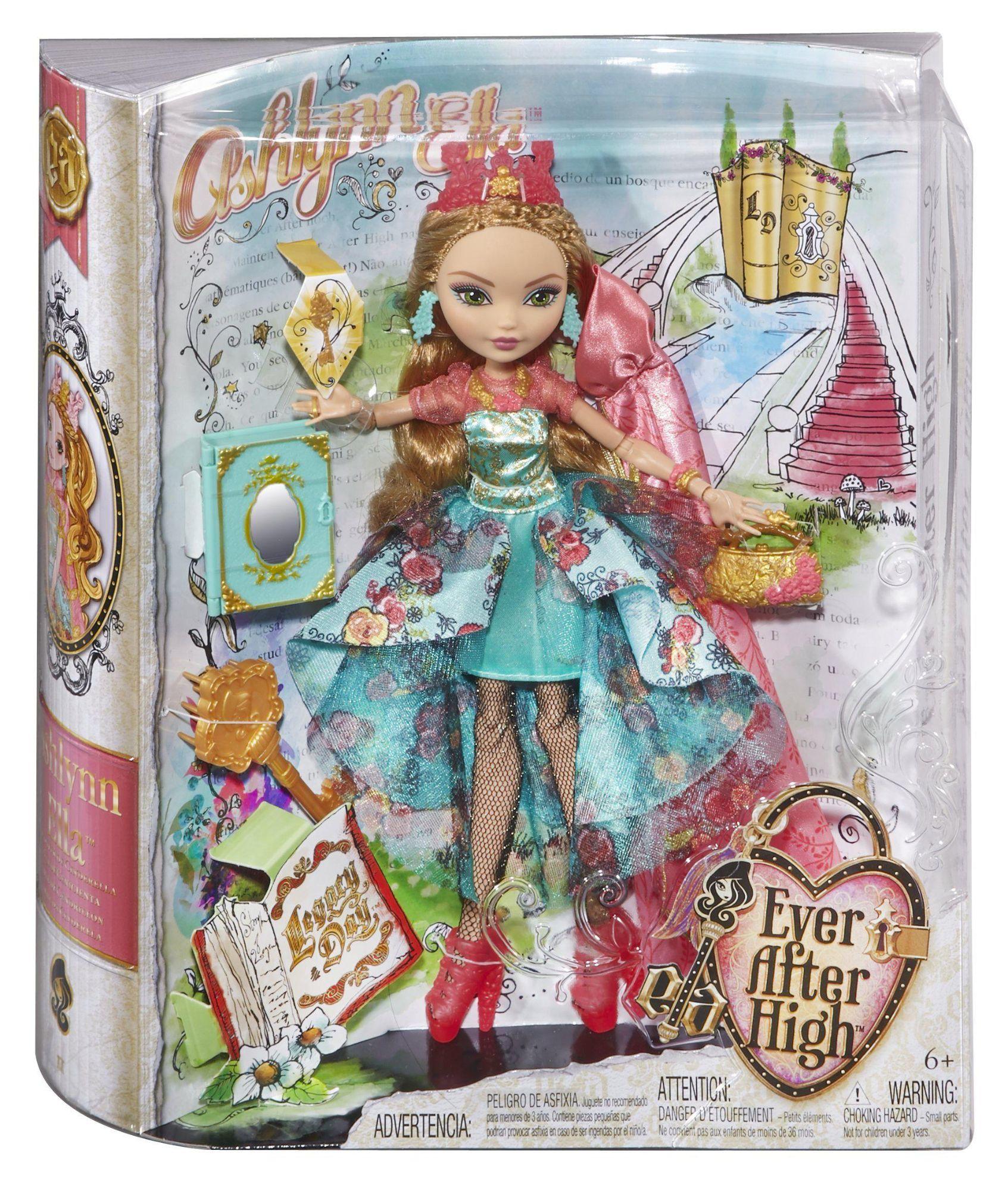Mattel Ever After High - Le Jour De Lhéritage - Ashlynn avec Jeux De Ever After High