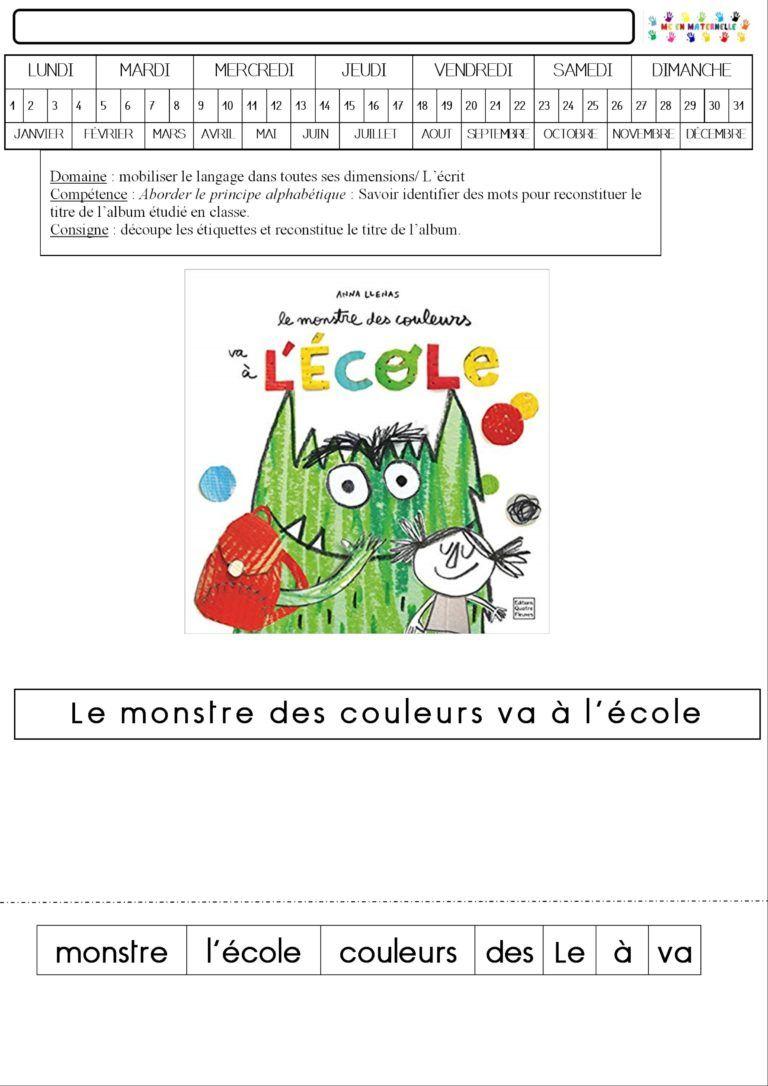 Mc En Maternelle | Exploitation Pour L'École Maternelle destiné Mc En Maternelle