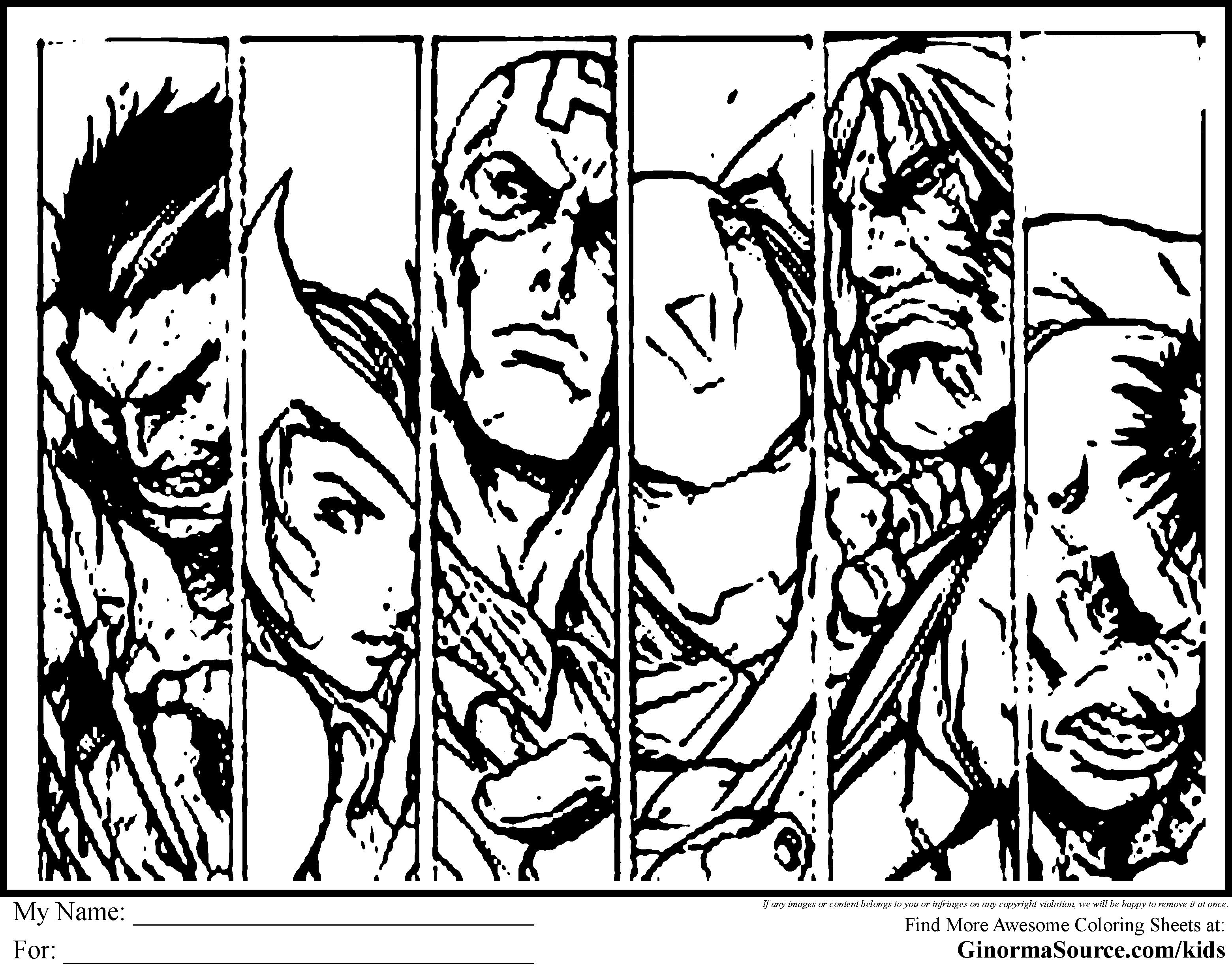 Meilleur De Coloriage Avenger A Imprimer | Imprimer Et serapportantà Coloriage Avengers