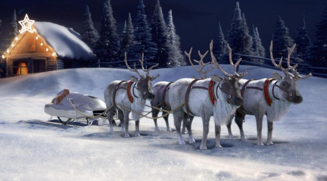 Mercedes-Benz, Configurez Le Traineau Du Père Noël encequiconcerne Traineaux Du Pere Noel