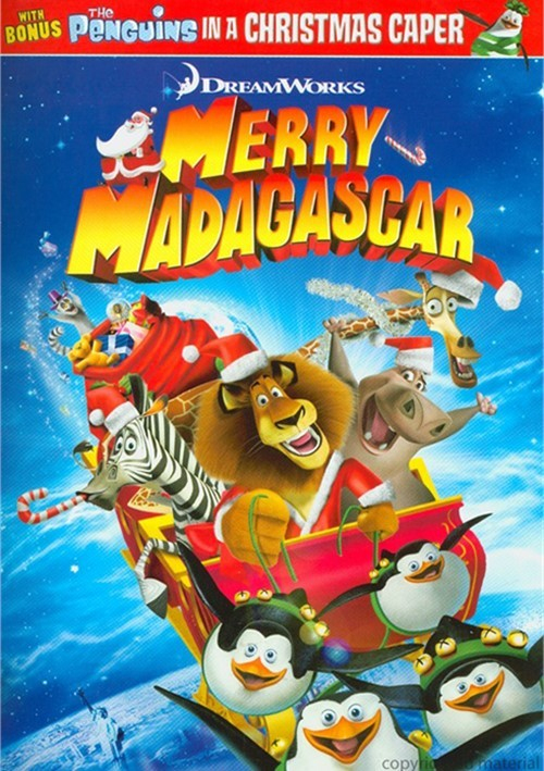 Merry Madagascar (Dvd 2009) | Dvd Empire pour Dreamworks Madagascar Movie