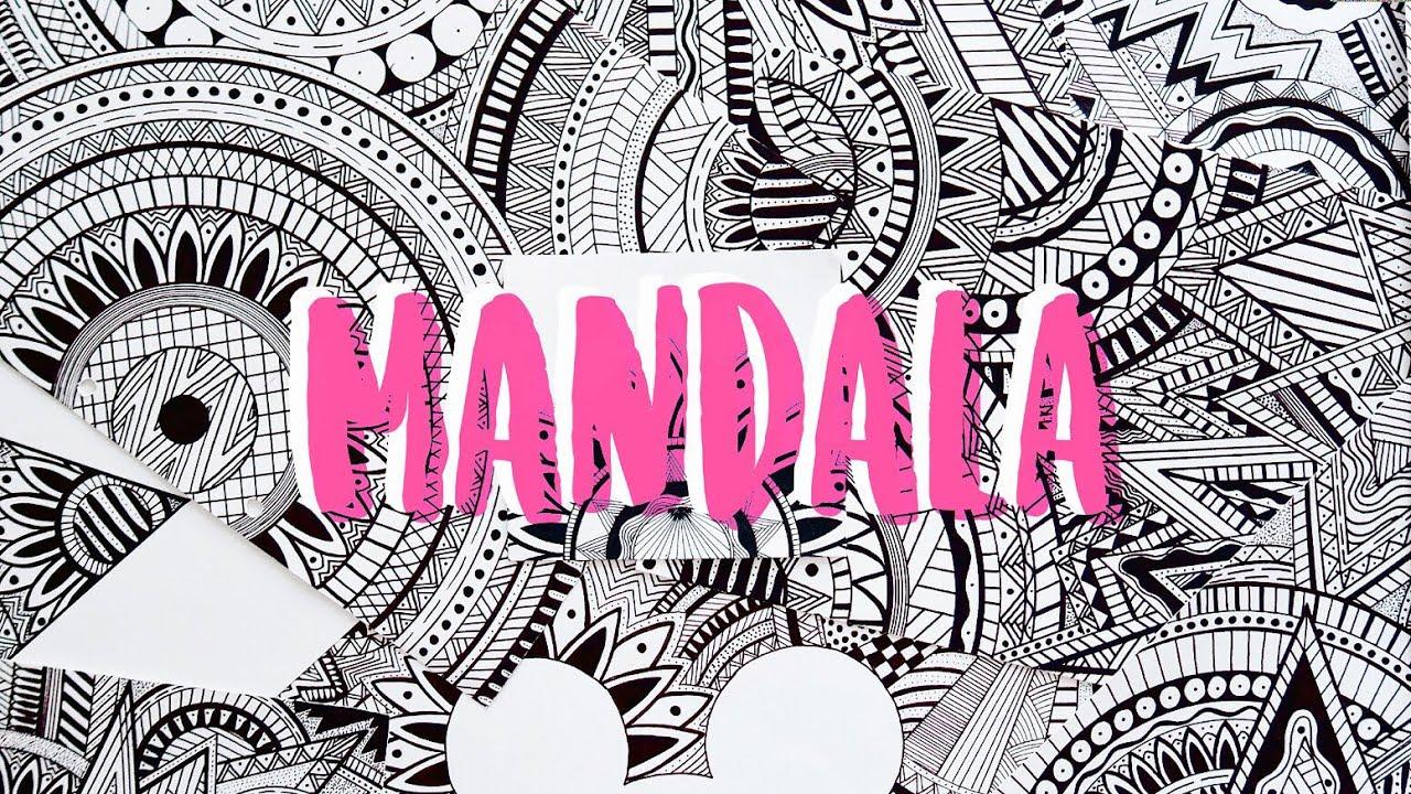 Mes Dessins Mandala - encequiconcerne Mandala Coloriage