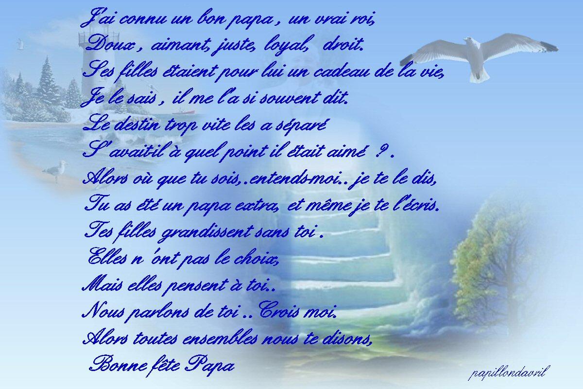 Mes Ecrits - Page 2 destiné Poeme Pour Papa