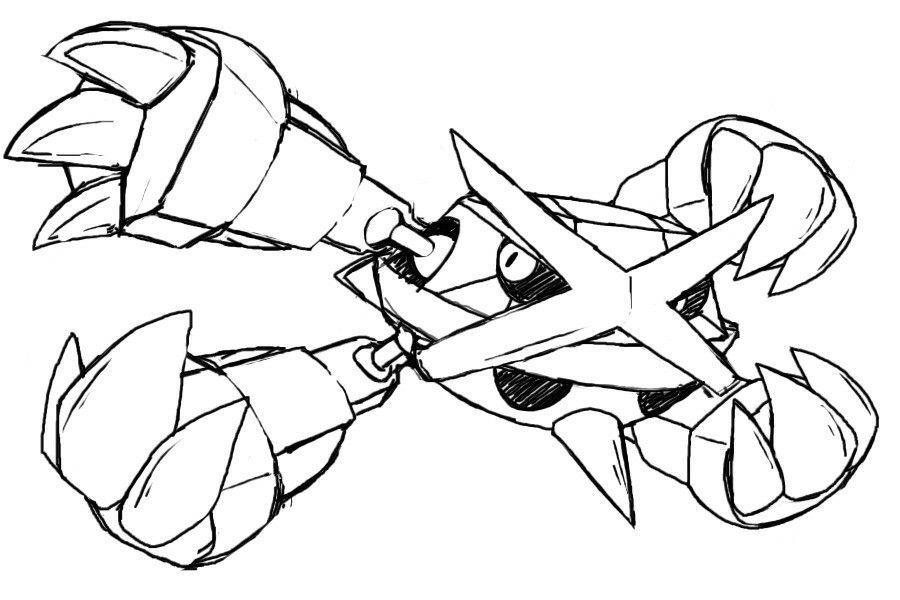 Metagross | Art, Pokemon, Design Reference destiné Coloriage Pok?Mon Sucreine