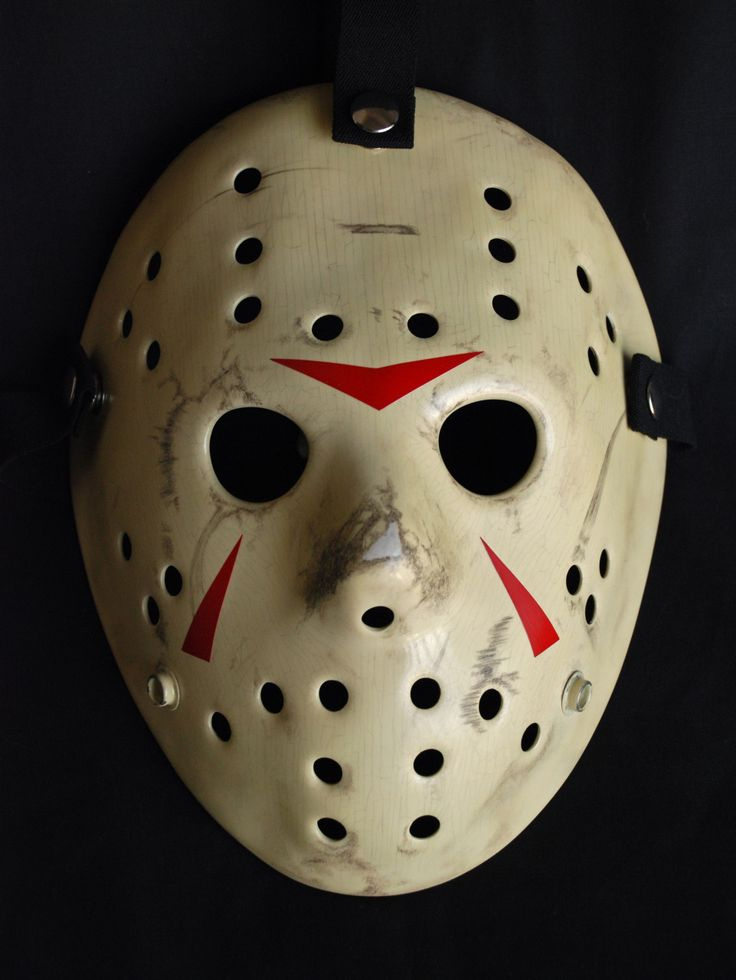 Michael Myers Goalie Mask concernant Fabrication Masque Halloween