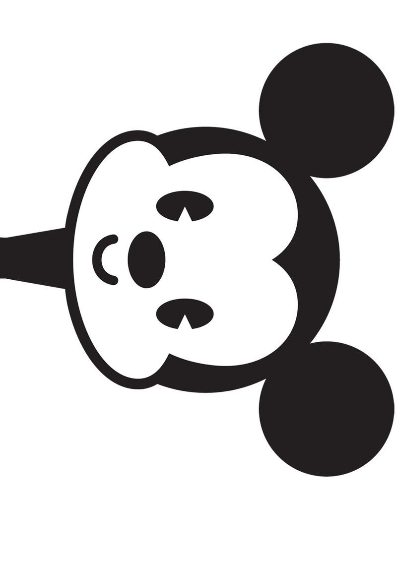 Mickey Pantin serapportantà Coloriage Tete Mickey